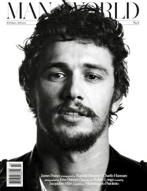 James Franco for Man World - No 2