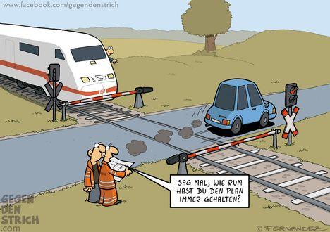 Auf die deutsche Bahn ist verlass!!!