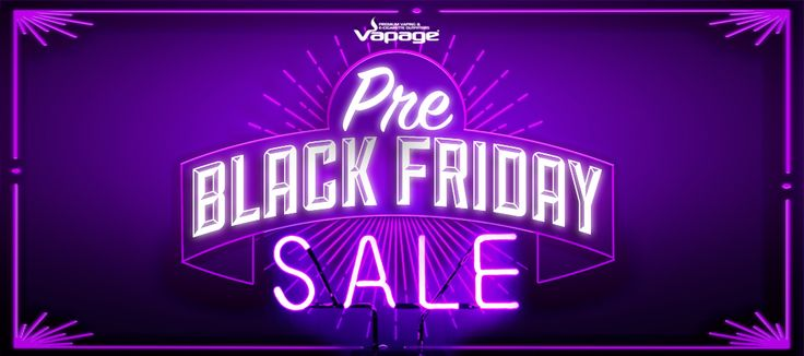 Black Friday Electronic Cigarettes Deals from Planet Goldilocks and Vapage