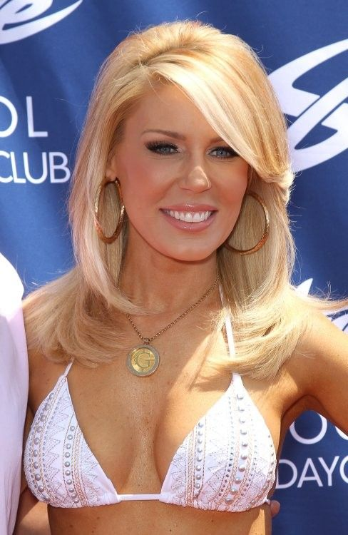 Gretchen Rossi - love her hair