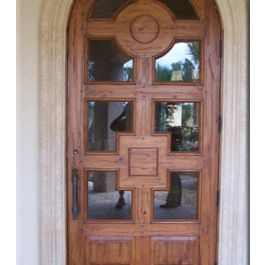 glass front doors tropical   Tropical Front Doors Design Ideas, Pictures, Remodel and Decor
