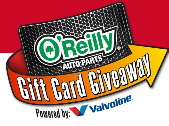 Enter the O-Reilly's Gift Card Sweepstakes and Instant Win Game for your chance to win a$100 O'Reilly Auto Parts electronic gift card!