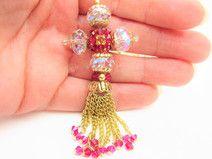 "Collana con pendente Croce "" cristallo Swarovsky"""