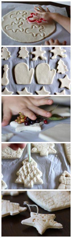 Salt Dough Ornaments DIY