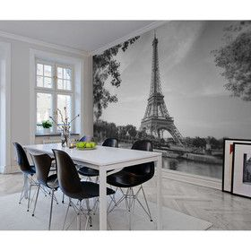 Paris Black and White   Rebel Walls @ The Home