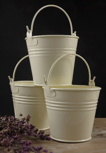 Best decorating with metal buckets images on pinterest