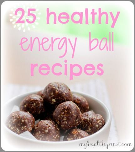 25 Healthy Energy Ball Recipes