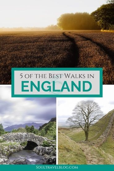 5 of our Favourite Walks in England.