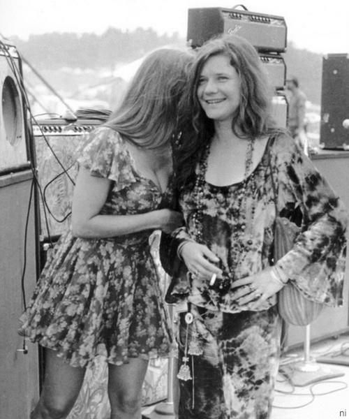 Michelle Phillips With Janis Joplin Rock N Roll