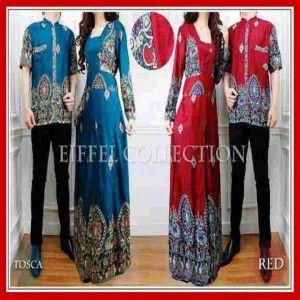 Baju Batik Couple Modern Dan Terbaru