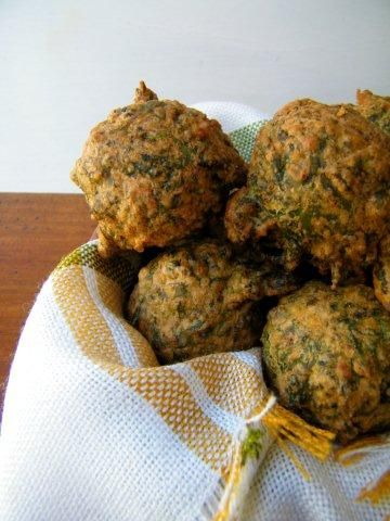 Buñuelos de Acelga (Swiss Chard Fritters)