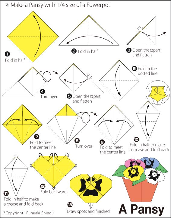 416 best diagrams and tutorial images on pinterest paper crafts rh pinterest com Easy Origami Heart Easy Origami Dragon