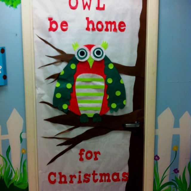 Classroom Ideas For Christmas : Christmas door decorations kindergarten classroom hallow