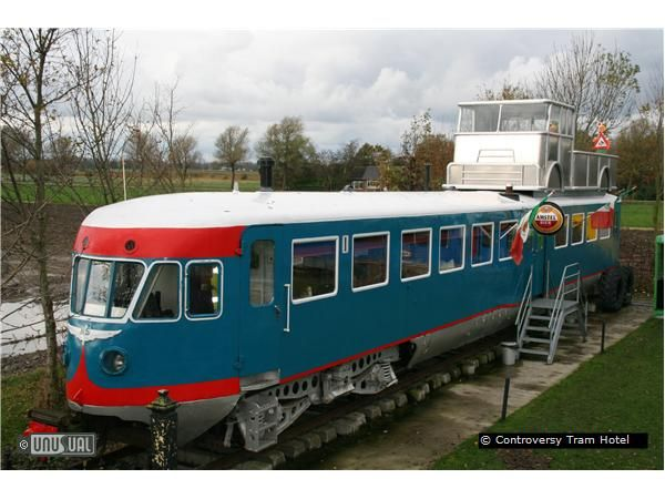 Sleep in a Tram or Railway car in comfort - in Holland