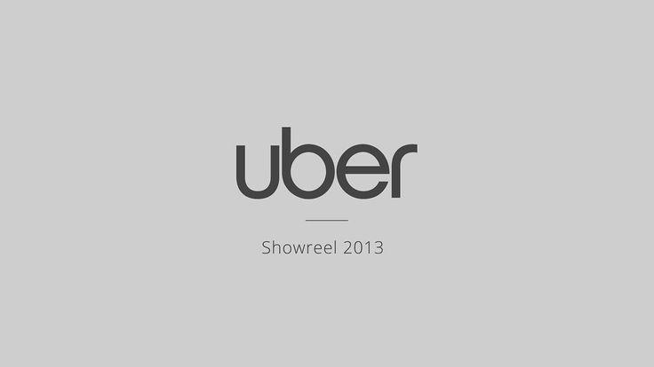 Uber 2013 Showreel