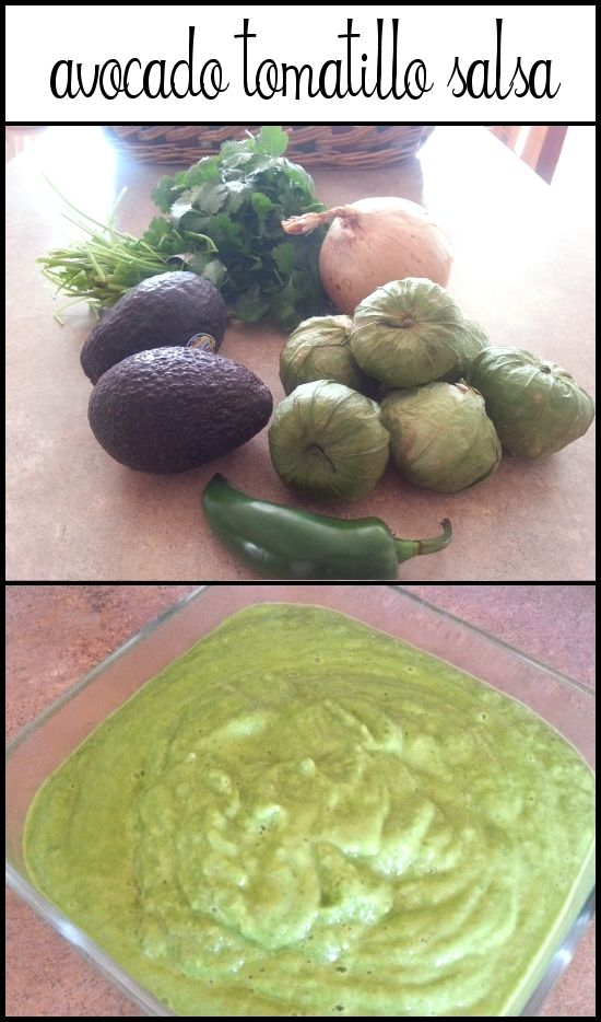 My good friend's family recipe. I have never purchased a tomatillo. Avocado Tomatillo Salsa - Housewife Hellraiser