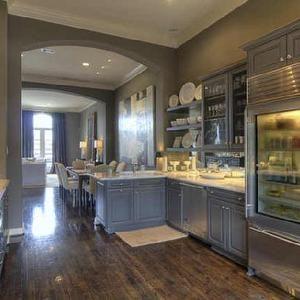 Kitchens   Gray Kitchen Cabinets, Calcutta Gold Countertops, Gray Kitchen  Cabinets, Gray Cabinets