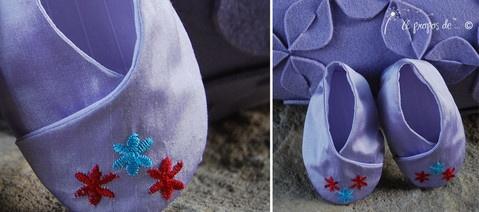 Petits pieds Yasmine Cute handmade baby shoes by Atelier Faggi Italy