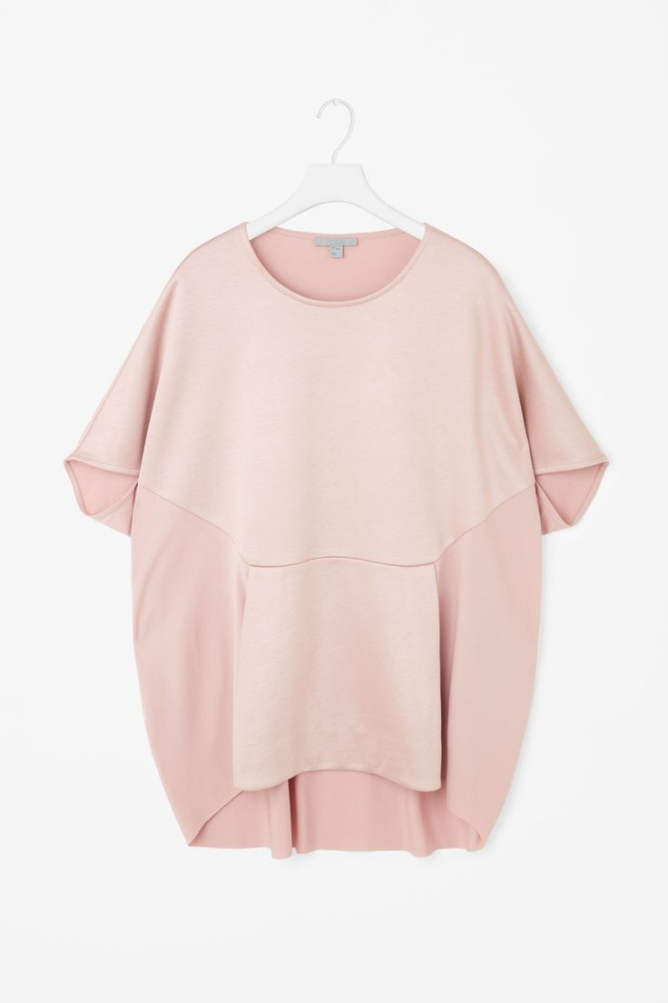 Oversized top with envelope detail