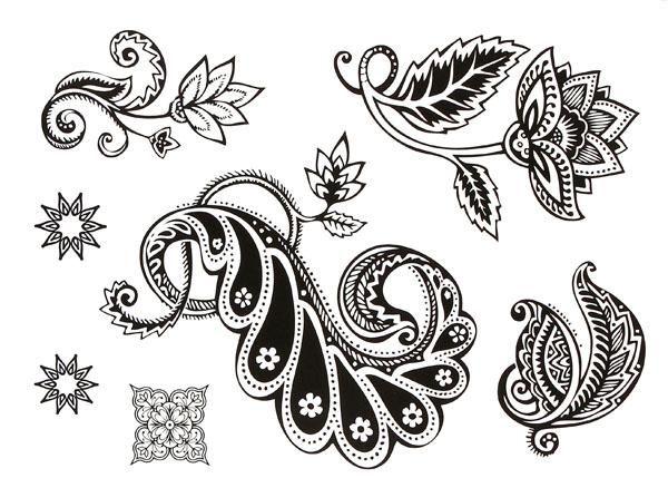 Black Henna Tattoo Luxury Indische Vrouwen Sieraden Art Tijdelijke Tattoos Grote sticker for Body Harajuku Liefde 2015 Tatouages Gold Jewelry Tattoos Halloween Tijdelijke tatoeages Vanaf TS10, $ 9,49 | Dhgate.Com