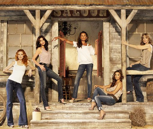 Desperate Housewives. Secrets and truths unfold through the lives of female friends in one suburban neighborhood, after the mysterious suicide of a neighbor. Leaves you hooked at the end of every episode.