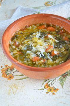 Minestrone di Verdure - Zuppa di Verdure - Ricetta