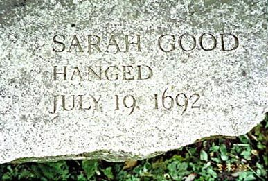 Salem Witch Trials Memorial - Sarah Good. #salemwitchtrials