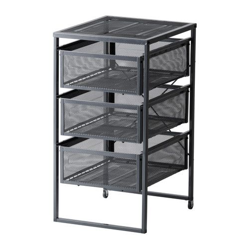 IKEA - LENNART, Caisson à tiroirs,  , , Facile à déplacer quand nécessaire grâce aux roulettes.Les tiroirs peuvent recevoir des documents au format A4.