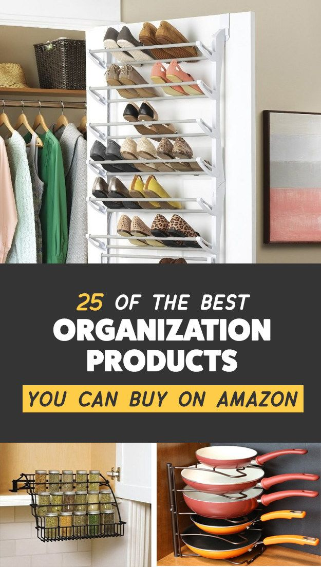 25 Of The Best Organization Products You Can Buy On Amazon