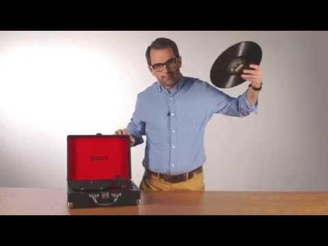 Vinyl Motion™ - Portable Suitcase Turntable - ION Audio - Dedicated to Delivering Sound Experiences
