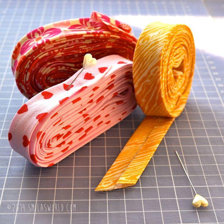 Smila´s World Blog | Anleitung / Tutorial: DIY Schrägband / DIY Biastape