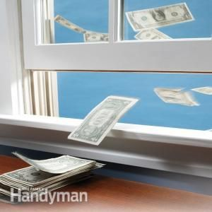 Follow these surprisingly easy tips and techniques for sealing air leaks in your home and save big money on your heating and cooling bills.