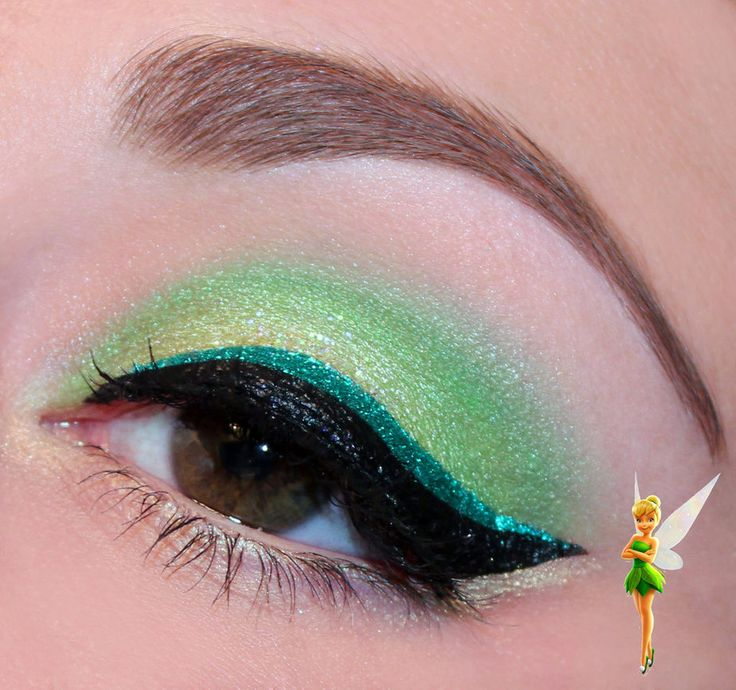 Disney Series : Tinkerbell inspired makeup by Luhivy on DeviantArt