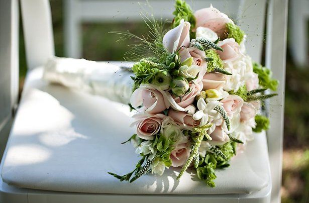Wedding bouquet perfect spring