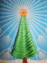 originellen-weihnachtsbaum-aus-papier-basteln-dekoking-com