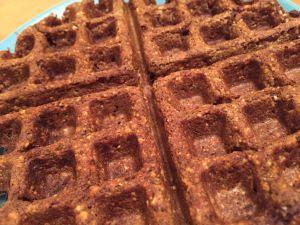 Pumpkin pinto waffle