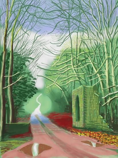 Annely Juda Fine Art   Exhibitions   David Hockney: The Arrival of Spring (2015)