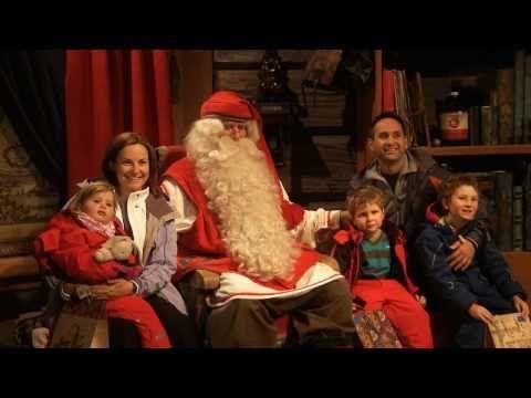Santa Claus Village in Rovaniemi in Lapland Finland