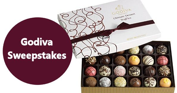 Godiva Truffles Sweepstakes - Free Sweepstakes, Contests & Giveaways