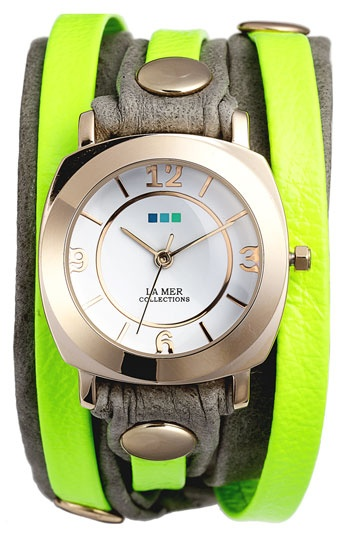 La Mer Collections 'Neon Odyssey' Watch available at #Nordstrom