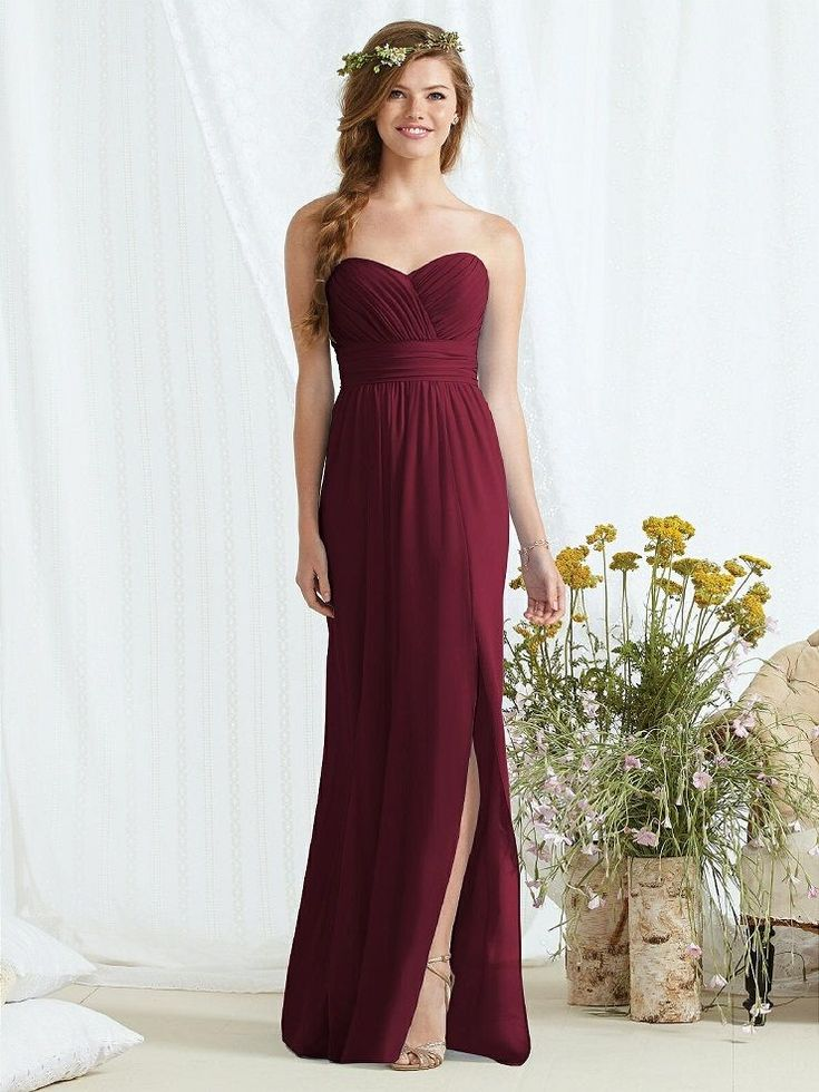 burgundy wedding dresses the 25 best burgundy bridesmaid dresses ideas on 2130