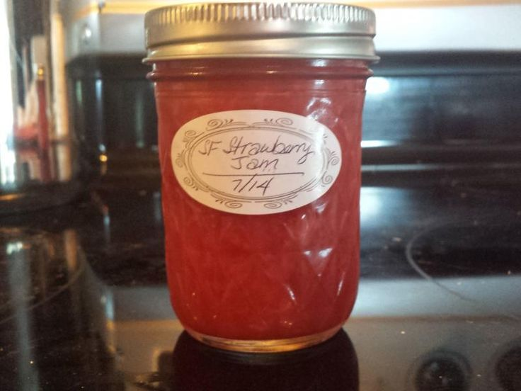 Ball no or low sugar pectin freezer jam recipe. Makes 4 one pint jars. 3 pints fresh strawberries = 3 cups crushed berries. I added 5 jalepanos. Coarsely chopped. Sauteed. Blended in blender. Added at end. Hope it worked:)