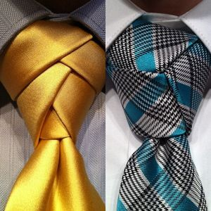 I really like this tie knot. eldredge-trinity-tieknots