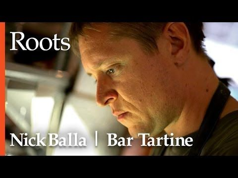 Chef Nick Balla - Bar Tartine | Roots | Some people say that what Chef Nick Balla is doing at Bar Tartine in San Francisco is crazy. In this episode of Roots, he explains the restaurant's unparalleled DIY foods program, his unlikely marriage of Japanese and Hungarian cuisines, and how his youth spent playing in a band and making 30 ingredient pastas for his friends turned into a successful career as a chef.