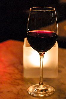 A glass of wine cures everything.