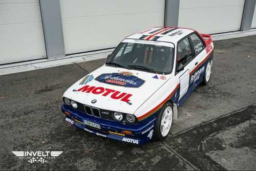 Offering for sale very precisely built racing Group A BMW E30 M3. The car was built in 2011 and was made as works Prodrive car.   Since then was maintained in Czech Republic, driven only by 3 drivers in total. Václav Pech gained 4th place overall at Rally Legend 2016 with this car, Mr. Jirovec was runner up in Czech Historic Rally Championship this year.    Engine 290bhp, dampers Reiger with fluid reservoirs, balljoints on all suspension, brakes AP Racing/ Brembo race parts.   Car is…