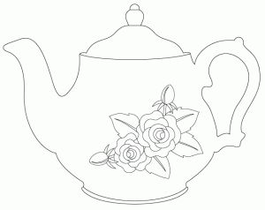vintage teapot - FREE digi (there are also cutting files for this too)