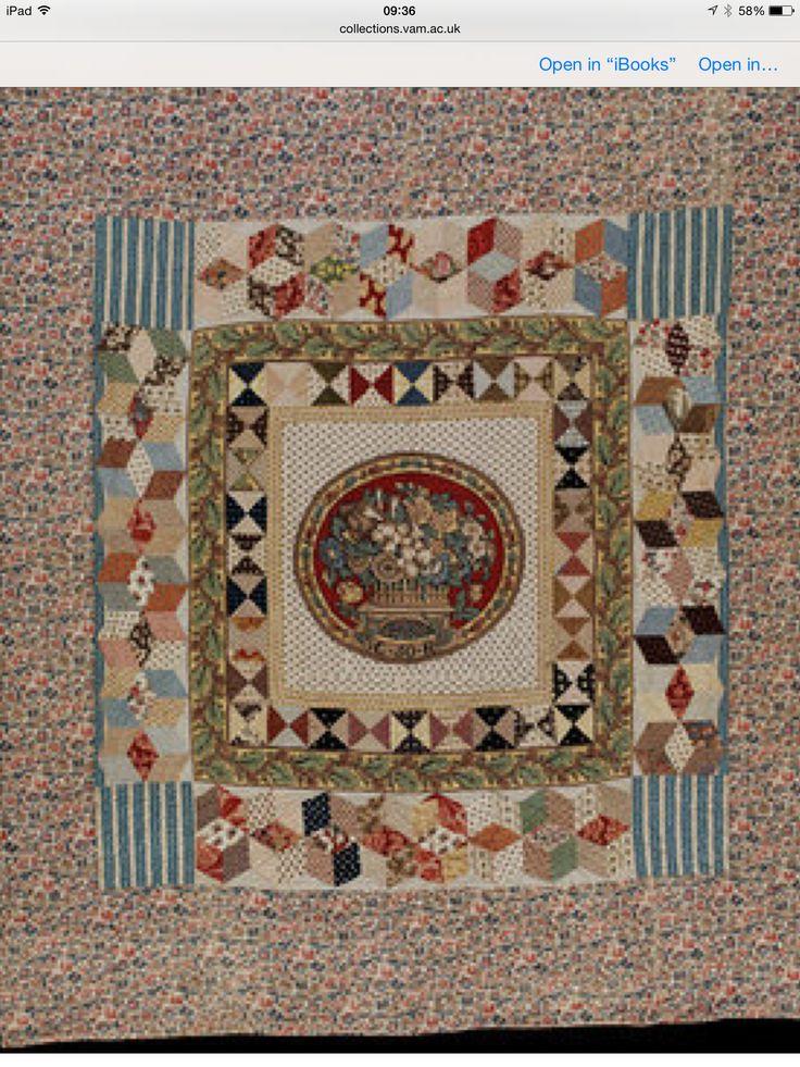 110 best English quilts images on Pinterest   Antique quilts ...