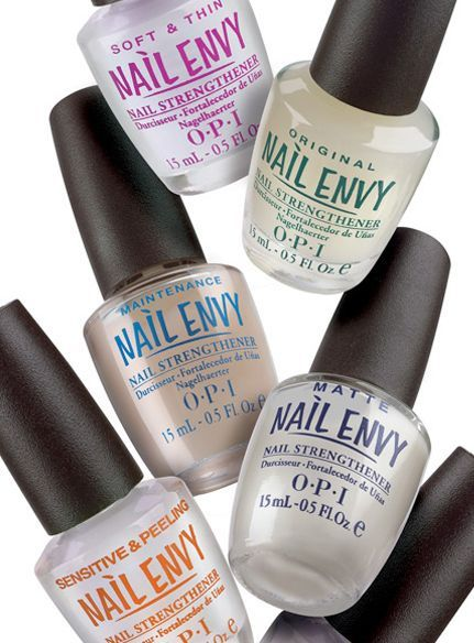 "Stopped by Ulta on the way back from dropping off the boys to pick up OPI Nail Envy because I've heard it's amazing.  Of course when I track it down I find out it now comes in different varieties. . . decisions.  Went with ""Soft and Thin"" because they are lol.  We'll see how it goes"