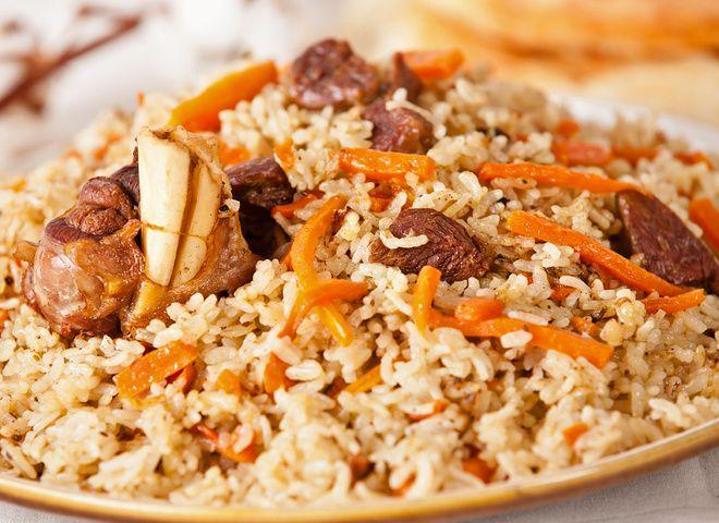 Плов в казане на костре   Ссылка на рецепт - https://recase.org/plov-v-kazane-na-kostre/  #Кашиизапеканки #блюдо #кухня #пища #рецепты #кулинария #еда #блюда #food #cook